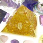新作オルゴナイト~フラワー・オブ・ライフのピラミッド~